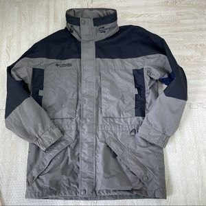 Columbia West Ridge Gray Black Jacket Coat